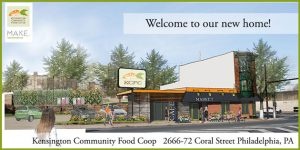 A rendering of Kensington Community Food Co-op's new store.